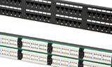 Оборудование в комм. шкаф на 96 lan ports