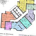 3-комнатная квартира, 85 кв.м., 2/14 этаж, новостройка