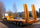 Услуги трала от 20 до 120 тонн. Перевозка спецтехники. Негабарит.
