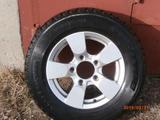 Продам комплект колес на литых дисках(летняя),Б/у.